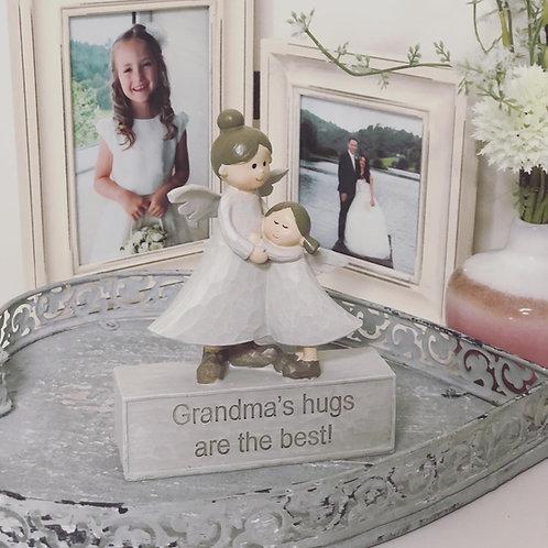 Grandma & Grand Daughter Angel Ornament