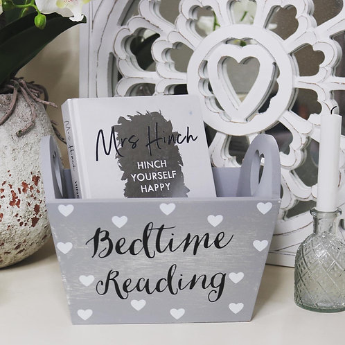 Bedtime Reading Crate…Heart