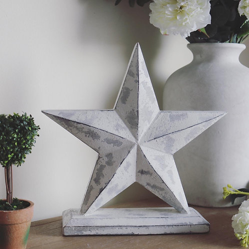 Chunky Star on Stand