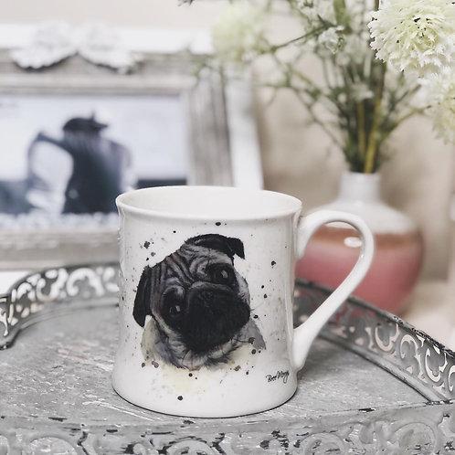 Bree Merryn Pug Fine China Mug