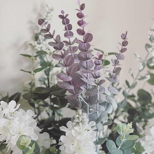 Eucalyptus Spray - Blush Pink
