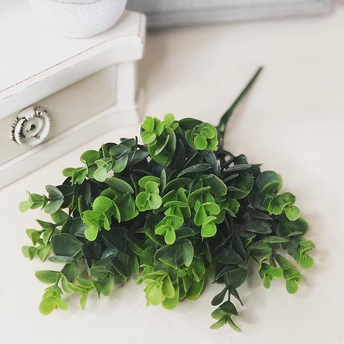 Green artificial Leaf spray