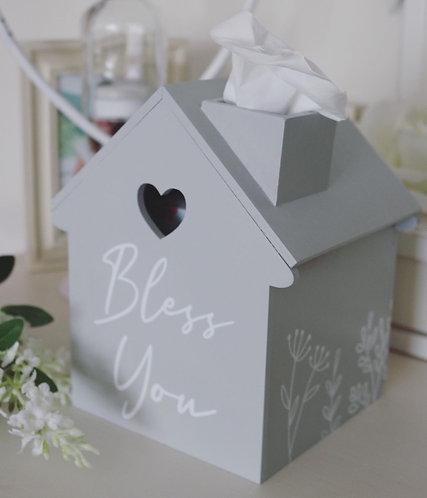 Tissue Storage House Box