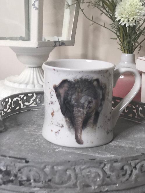 Bree Merryn Eliza Elephant Fine China Mug