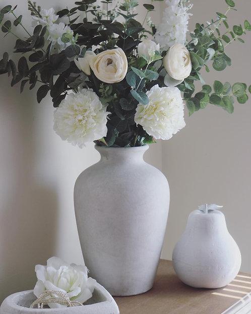Chloe Stone Vase