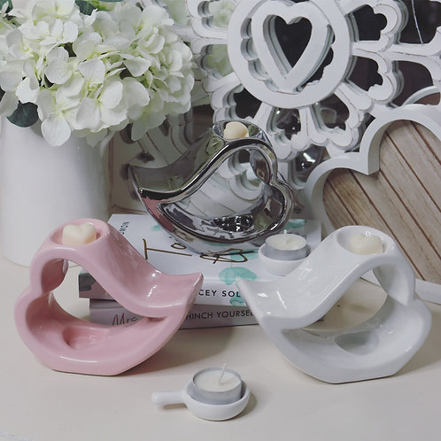 Sleepy Heart Ceramic Wax Melter
