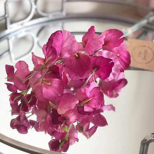 Small Pink Sweetpea Bouquet
