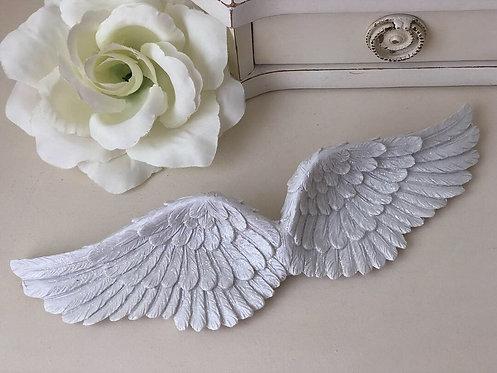 Glitter Wall Hanging Angel Wings