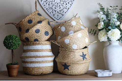Seagrass  Basket With different designs
