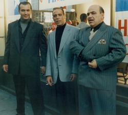 Joseph Vassallo, Nicki Corello & Jon Pulito at Sony Columbia Studios