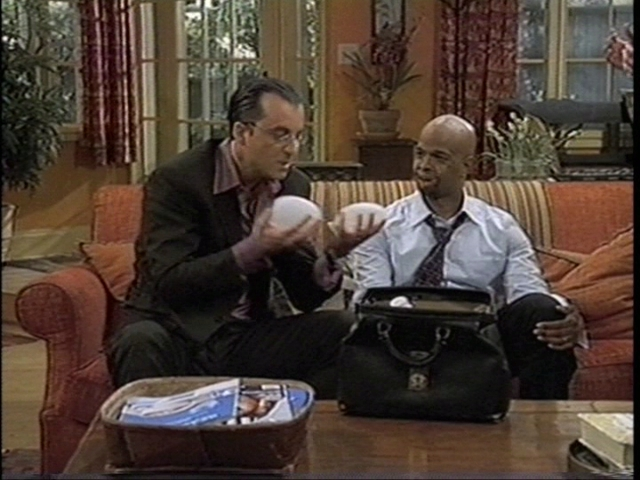 Joseph Vassallo and Damon Wayans