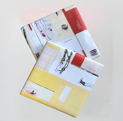 Five Legs wrapping paper