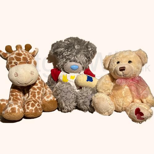 Soft Toy Trio Set