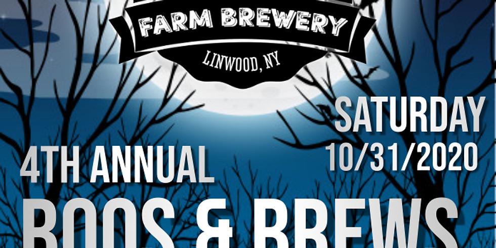 4th Annual Boos & Brews