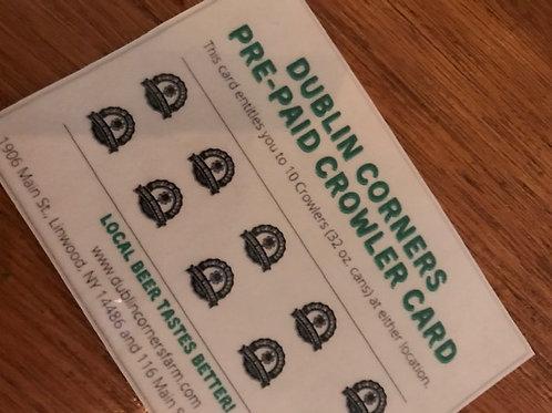 Pre-Paid Crowler Card