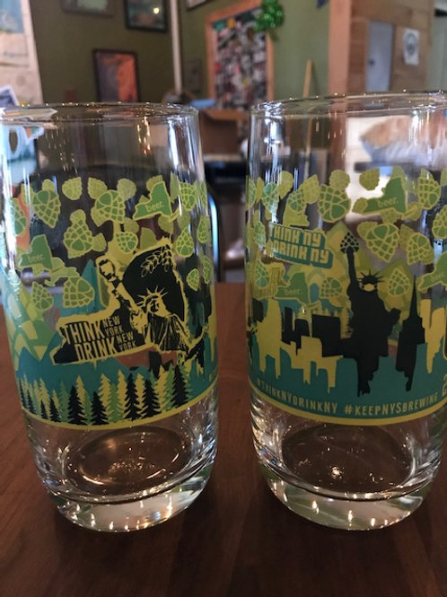 Limited Edition NYSBA Glass