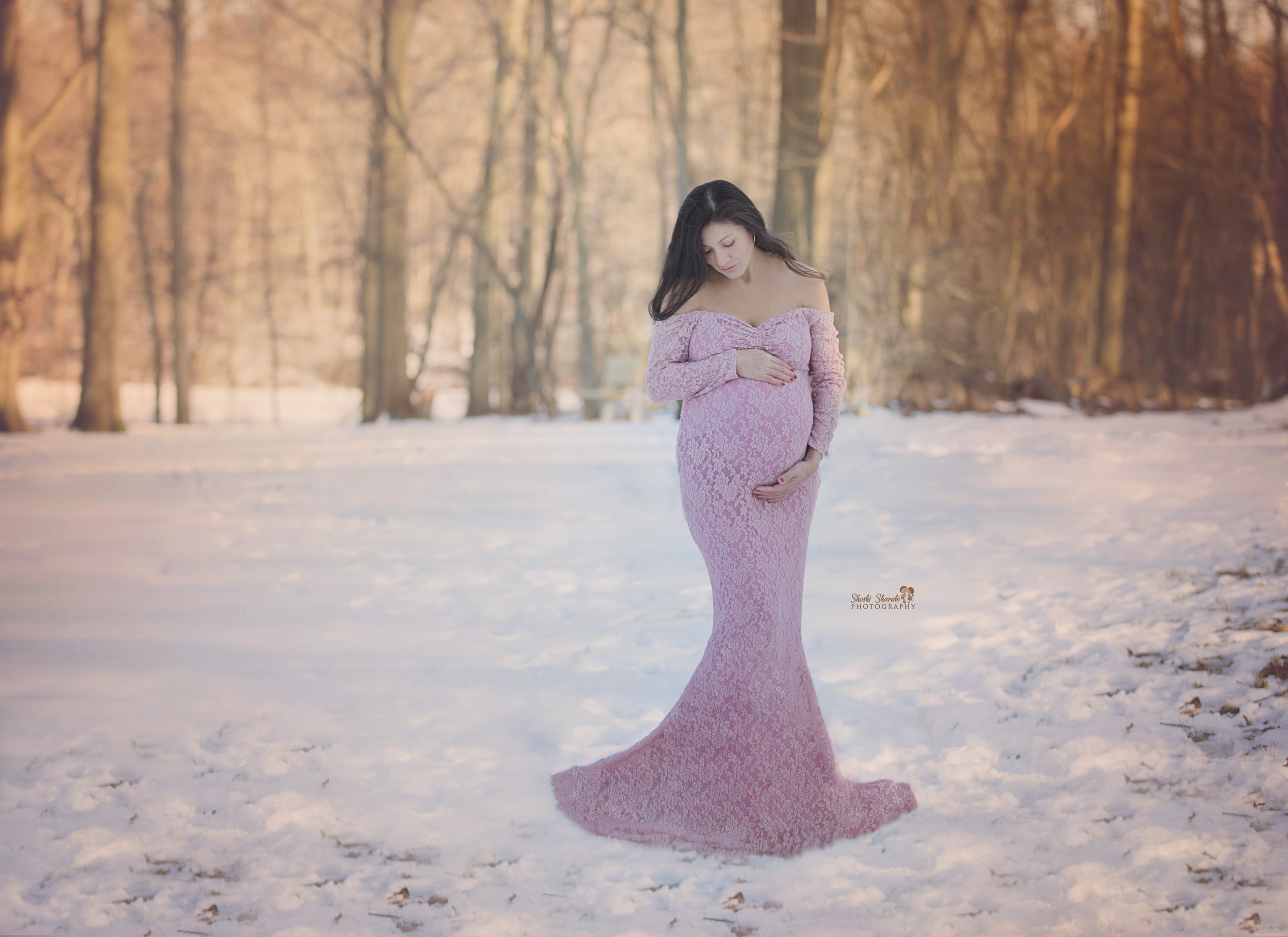 Snow day Maternity