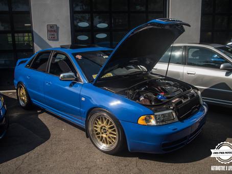 Cars and Coffee and Cicadas?? Princeton Audi