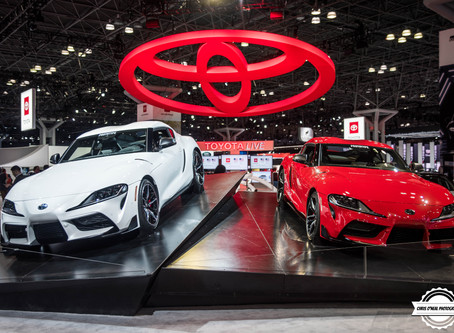 The Icon is back The GR A90 Toyota Supra at the NYIAS