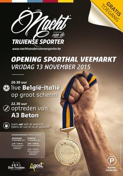Opening Trudo Sporthal