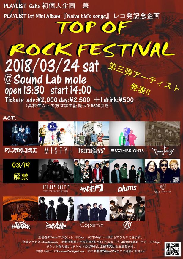 2018/3/24(土)札幌Sound Lab Moleに出漁!