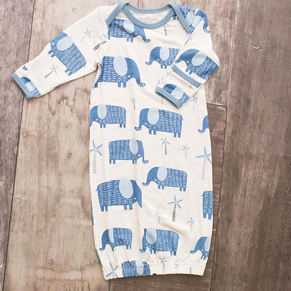 Blue Elephant Gown