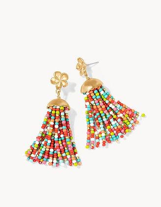 Jellyfish Tassel Earrings
