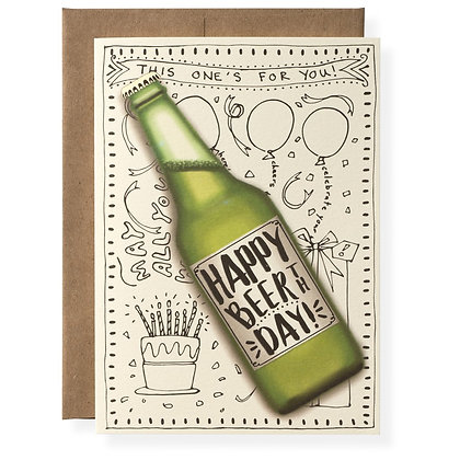 Beerth Day Greeting Card