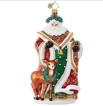 My Deer Santa- by Christopher Radko