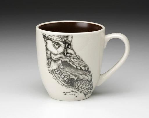 Screech Owl #1 Mug by Laura Zindel