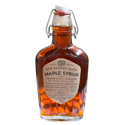 Rye Barrel Aged Maple Syrup