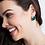 Thumbnail: Walton Feather Stud Earrings