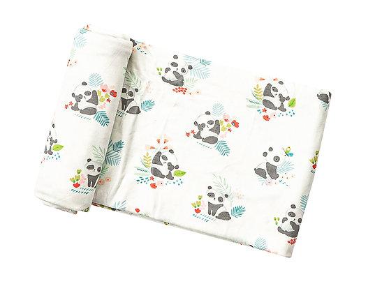 Pandas Bamboo Swaddle Blanket