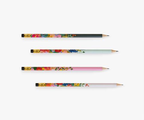 Garden Party Writing Pencil Sets