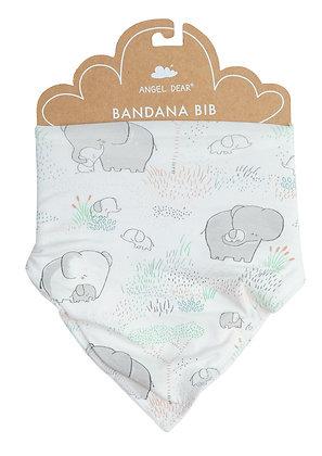 Grey Elephant Family Bandana Bib