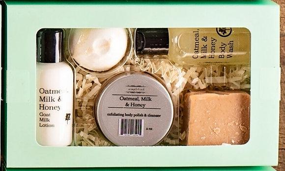 Goat Milk 5 Piece Sampler Set- All Fragrances