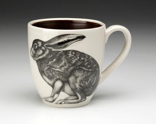 Crouching Hare Mug By Laura Zindel