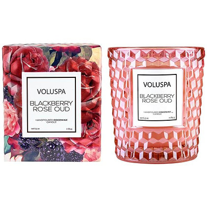 Blackberry Rose Oud Classic Boxed Candle