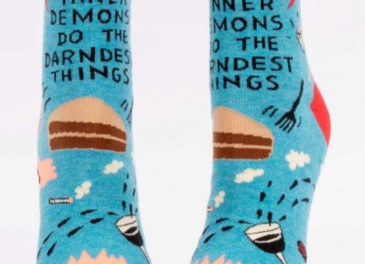 Inner Demons Women's Ankle Socks