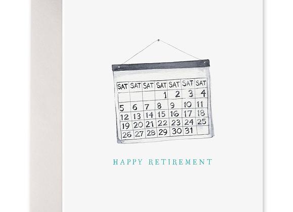 Retirement Saturdays Card