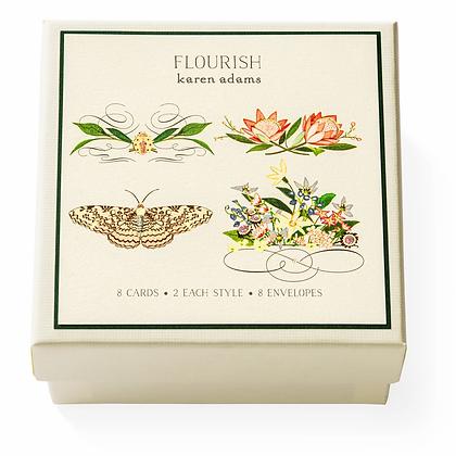Flourish Gift Enclosure Boxed Notes Set
