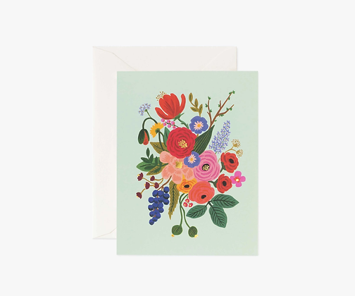 Garden Party Mint Card