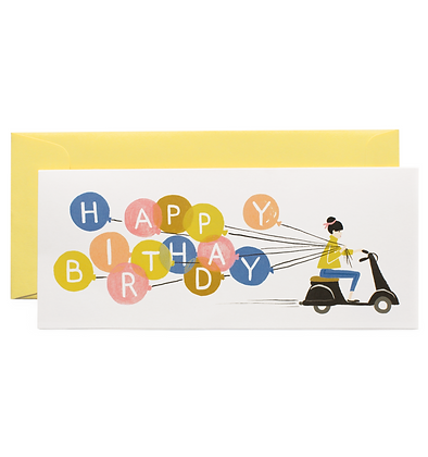 Birthday Scooter No. 10 Card
