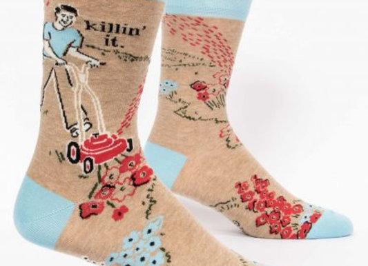 Killin' It Men's Crew Socks
