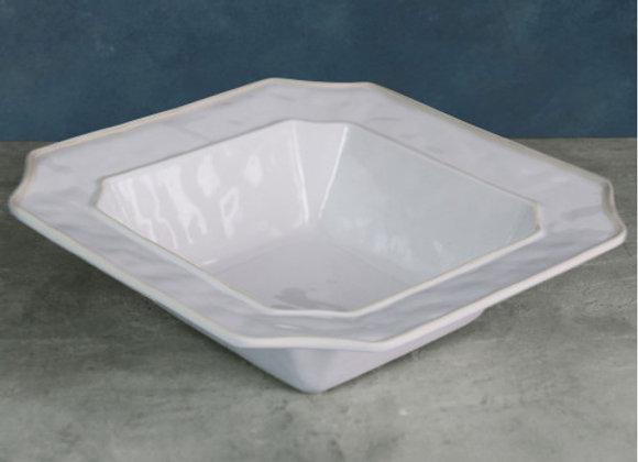White Large Bowl - VIDA Charleston