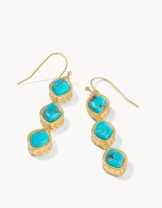 Naia Linear Drop Earrings