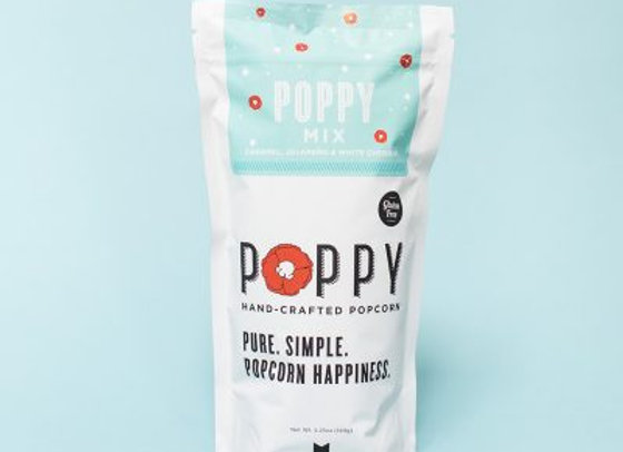 Poppy Mix- Jalapeno, White Cheddar & Caramel Popcorn