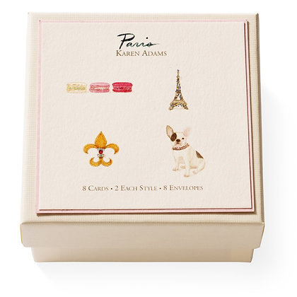 Paris Gift Enclosure Boxed Notes