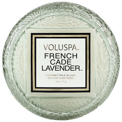 French Cade Lavender Macaron Candle