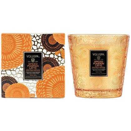 Spiced Pumpkin Latte 2- Wick Hearth Candle